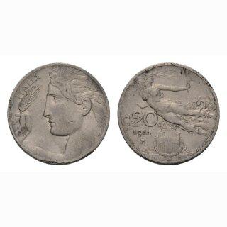 Italien  20 Centesimi 1911 R