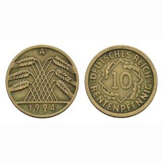Deutschland 10 Rentenpfennig 1924 A