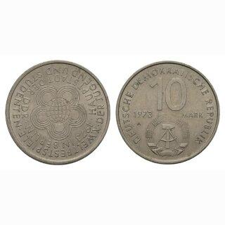 DDR 10 Mark  1973 A Weltfestspiele der Jugend