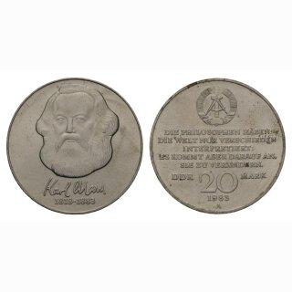 DDR 20 Mark 1983 Karl Marx