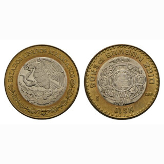 Mexiko 10 Nuevo Pesos 1992