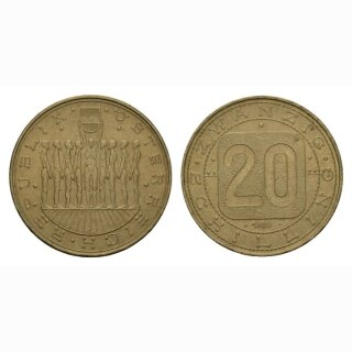 Österreich 20 Schilling 1980