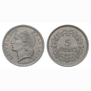 Frankreich  5 Francs 1947 France
