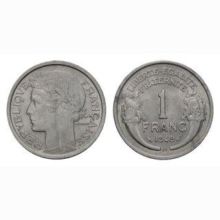 Frankreich  1 Franc 1949 France
