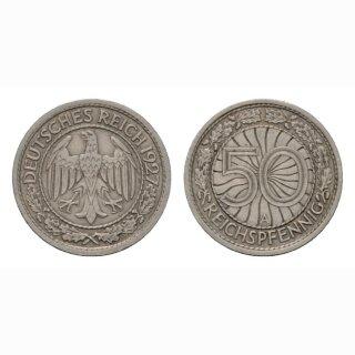 Deutschland 50 Reichspfennig 1927 A