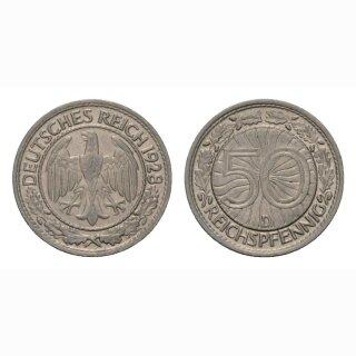 Deutschland 50 Reichspfennig 1928 D