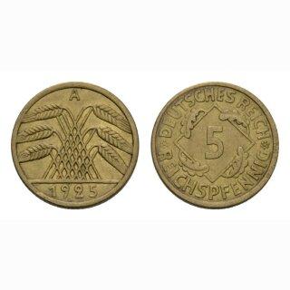 Deutschland 5 Reichspfennig 1925 A