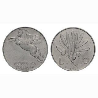 Italien 10 Lire  1948 R