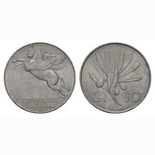 Italien 10 Lire  1949 R