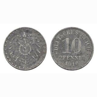 Deutschland 10 Pfennig 1916 A