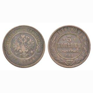 Russland 3 Kopeken 1911