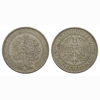 Deutschland 5 Reichsmark 1932 A Weimarer Republik Eichbaum
