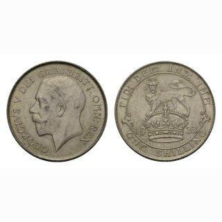 England Schilling 1923 George V