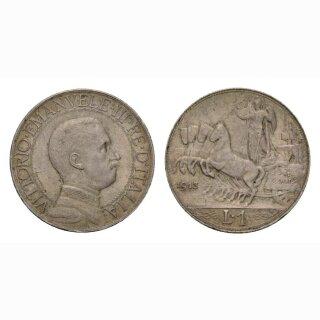 Italien  1 Lire  1913 R