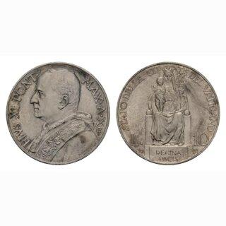 Vatikan 10 Lire 1931 / X Pius XI