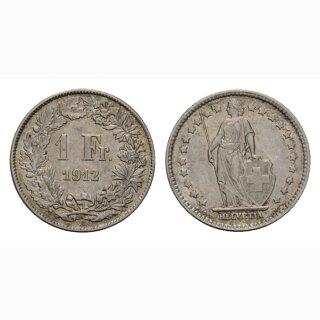 Schweiz 1 Franken 1912 B