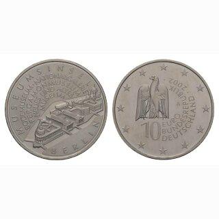 Deutschland 10 Euro 2002 A Museumsinsel Berlin