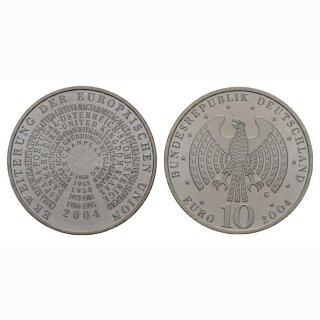 Deutschland 10 Euro 2004 G Erweiterung Europäische Union