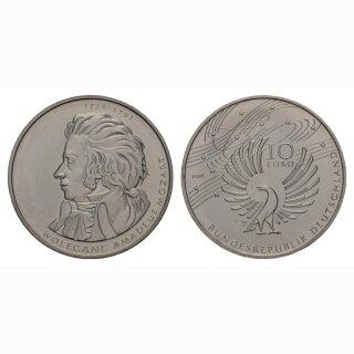 Deutschland 10 Euro 2006 D 250 Jahre Wolgang Amadeus Mozart