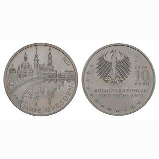 Deutschland 10 Euro 2006 A 800 Jahre Dresden