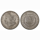 USA 1 Dollar 1 $ 1880 S  Morgan Dollar