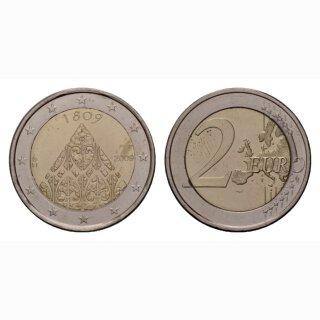 Finnland 2 Euro 2009 20. Jahre Autonomie BI