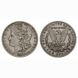 USA 1 Dollar 1 $ 1886 O Morgan Dollar