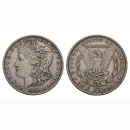 USA 1 Dollar 1 $ 1890 S Morgan Dollar