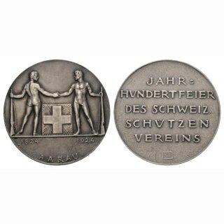 1924 Schweiz Eidg. Schützenfest Aarau  Jahrhundertfeier des Schweizerischen Schützenvereins in Aarau