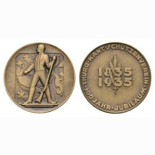 1935 Schweiz Thurgauischer Kant. Schützenverein 1835-1935