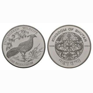Bhuta 300 Ngultrums 1994 Fasan