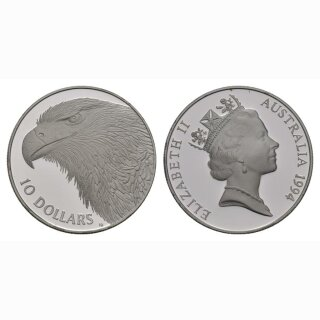 Australien 10 Dollars 1994 Adler