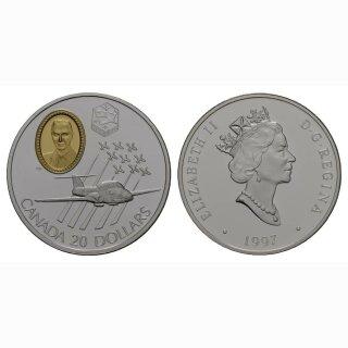 Kanada 20 Dollars 1997 CT-114 Tutor