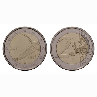 Finnland 2 Euro 2011 200 Jahre Nationalbibliothek Gedenkmünze