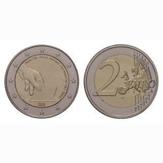 Malta 2 Euro 2011 Verfassung / 1. Wahl Gedenkmünze