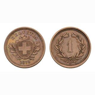 Schweiz 1 Rappen 1879 B