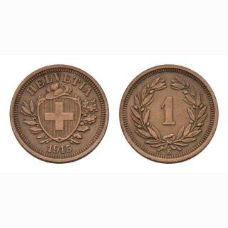 Schweiz 1 Rappen 1915 B