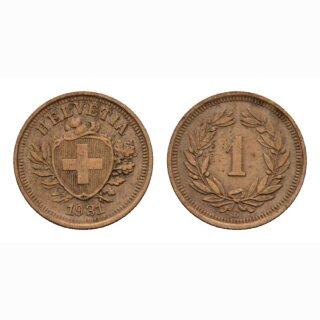 Schweiz 1 Rappen 1931 B