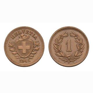 Schweiz 1 Rappen 1941 B