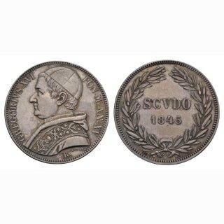 Italien Vatikan Scudo 1845