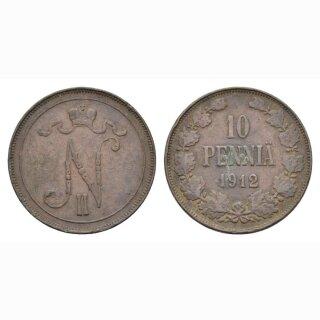 Finnland 10 Pennia 1912