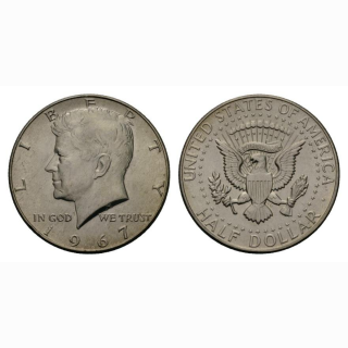 USA  1/2 Dollar 1967 Kennedy