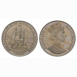 Isle of Man 1 Crown 1989