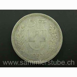 5 Franken 1923 B -ss Schweiz