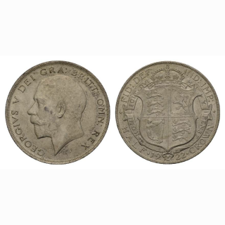 England 1/2 Crown 1922