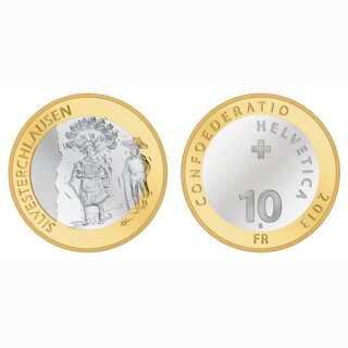 Schweiz 10 Franken 2013 B Silvesterklausen
