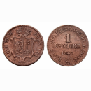 Genf 1 Centime 1847