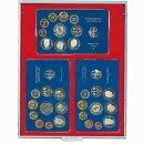 Münzenbox mit eckigen Vertiefungen Fachabmessung...