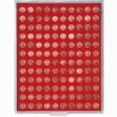 Münzenbox mit runden Vertiefungen Ø 16,5 (Lindner 2501)