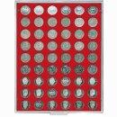 Münzenbox mit runden Vertiefungen Ø 26,75...